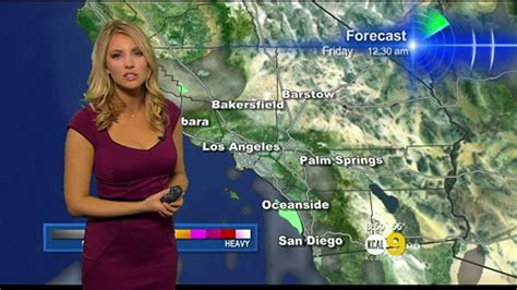 weather channel blonde evelyn taft hot weather girl kcal 2013