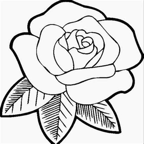 gambar bunga kartun hitam putih untuk mewarna aneka gambar gambar
