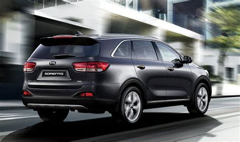 New Kia Sorrento Kia Sorento Updated For 2017 With Better Pricing And New