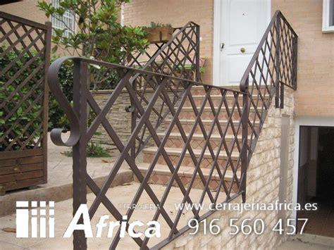 barandilla jardin barandillas para escaleras de hierro y forja en madrid