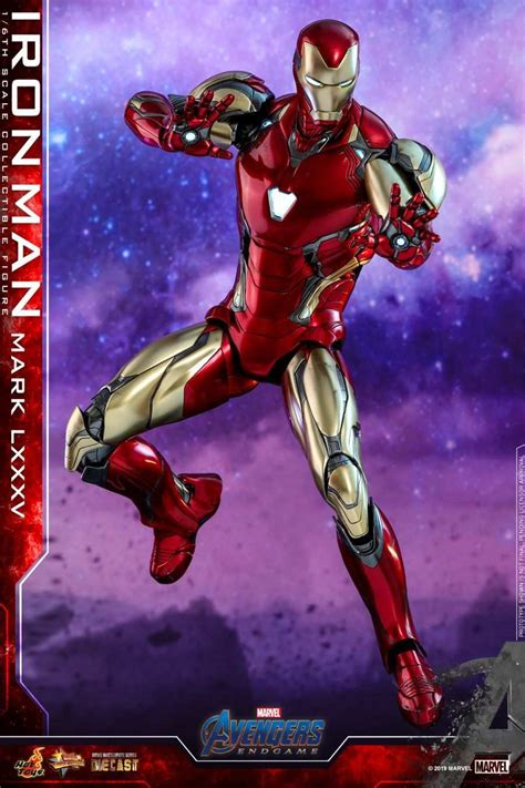 iron man mark lxxxv armor avengers endgame detailed