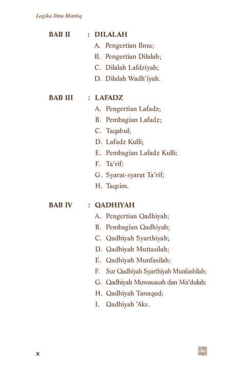 Logika Ilmu Mantiq Edisi Revisi by Jual Buku Logika Ilmu Mantiq Edisi Revisi Oleh Drs H A