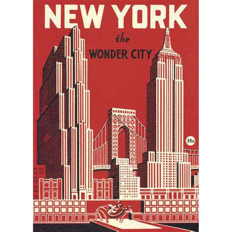 design poster buy buy the cavallini new york wonder city wrap or poster