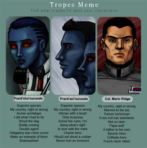 Or Tv Tropes Tv Tropes Wars Characters By Ddriana On Deviantart