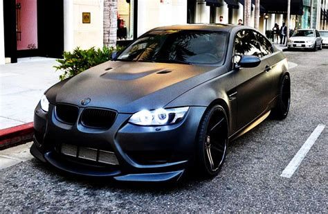 matte bmw top 10 matte black cars autofluence