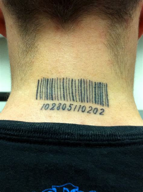 the barcode tattoo resolution barcode tattoo by zekira on deviantart