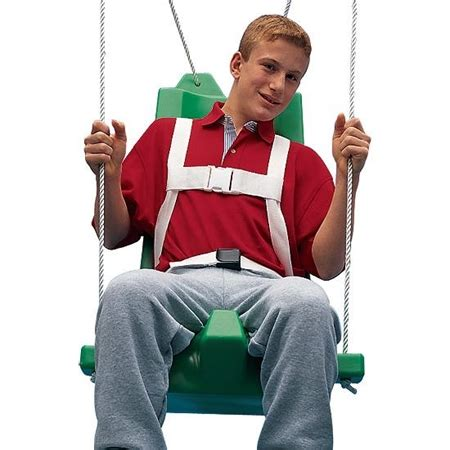 swings for special needs kids flying colors swing seat medium with pommel kids