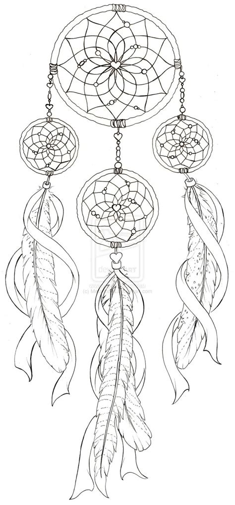 dream catcher tattoo coloring pages coloring pages