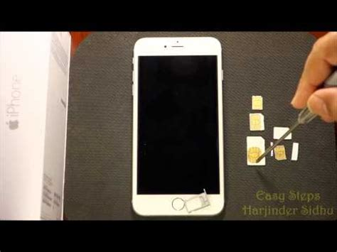 nano sim card template for iphone 6 how to use standard sim in iphone 6 plus make nano sim