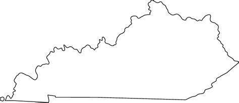 kentucky map outline outline map of kentucky