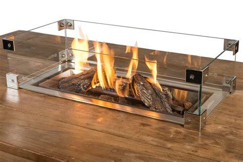 lade bioetanolo glazen ombouw inbouwbrander rechthoek groot