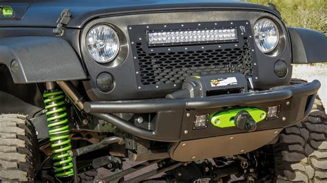 2007   2018 Jeep JK Venom Winch Front Bumper: ADD Offroad