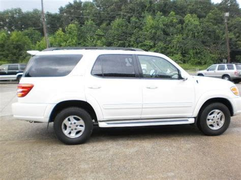 2002 Toyota Sequoia Mpg Purchase Used 2002 Toyota Sequoia Limited Sport Utility 4