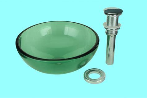 Green Glass Bathroom Sink by Vessel Sink Bathroom Green Glass Piccolo Mini 11 3 4