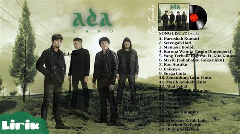 download mp3 ada band fuul album ada band full album lagu pop terbaik tahun 2000an youtube
