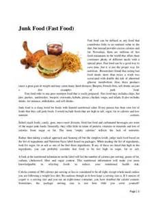 Our Food Essay by Essays Persuasive Essay On Junk Food