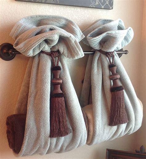 how to fold decorative bathroom towels como organizar as toalhas de banho blog lolahome
