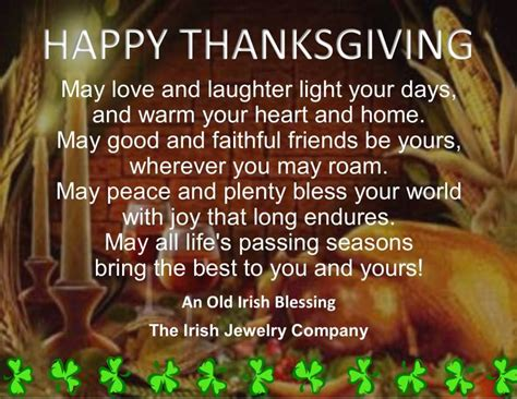 irish blessings irish blessing blessings and thanksgiving