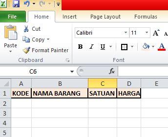 membuat form di excel macro membuat form isian data sederhana dengan macros di excel
