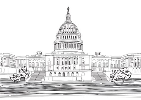 united states capitol building coloring page united states capitol building kidspressmagazine com