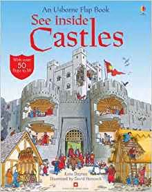 wings on my back the inside books see inside castles usborne flap books usborne see
