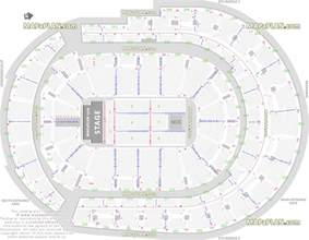 Bb T Center Floor Plan floor plan map with arena lower club amp upper bowl level layout