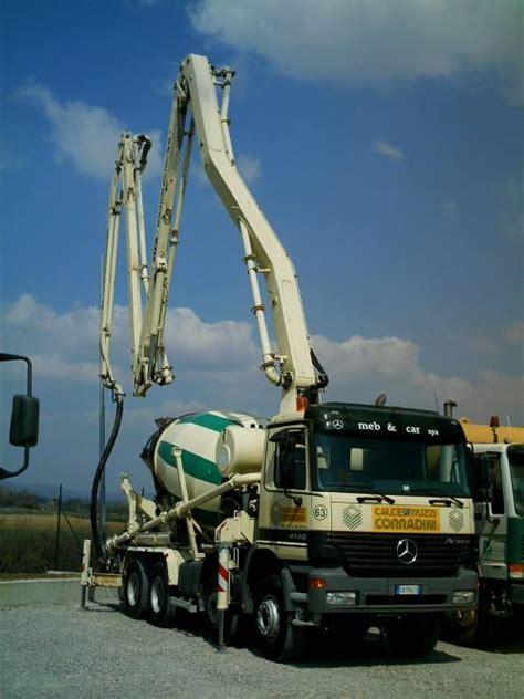 allestimenti  trasporto  pompaggio cemento veicoli industriali
