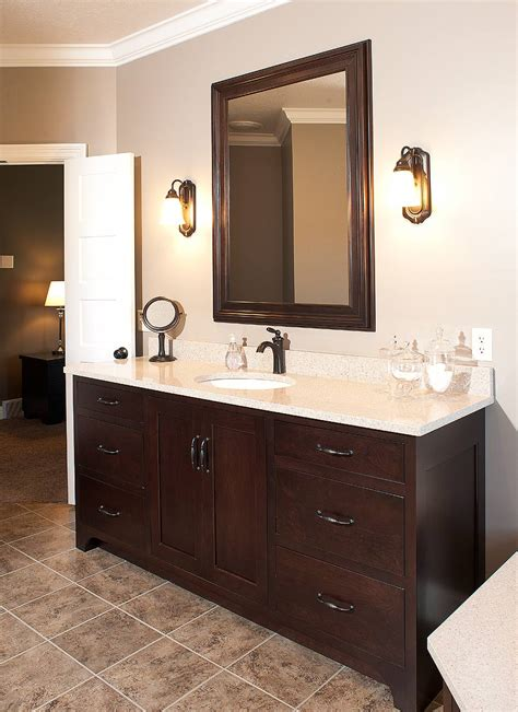 Bathroom Vanity Ideas Double Sink mullet cabinet custom designed bath