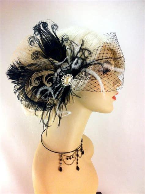 Feather Wedding Veil feather bridal fascinator bridal fascinator bridal