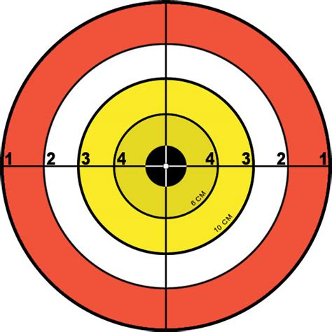 free printable targets to download the firearm blogthe gun targets clipart best