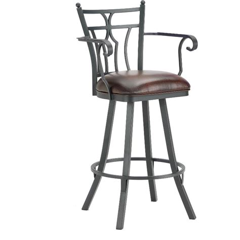 bar stools counter height with arms randle 26 quot counter stool with arms