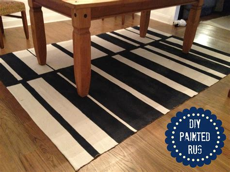 paint a rug diy how to paint a rug tutorial