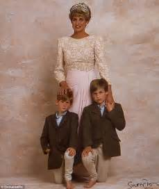 princess diana sons unseen lord snowdon portrait of diana with her sons