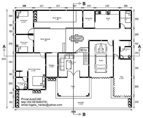 privat autocad profesional gambar denah rumah untuk privat autocad