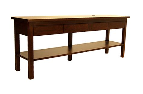 Show Tables by Fong Brothers Co Fb 5680 5 Wood Console Table