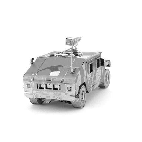 3d Metal Humvee metal earth iconx humvee 3d laser cut diy model armoured vehicle kit all goods