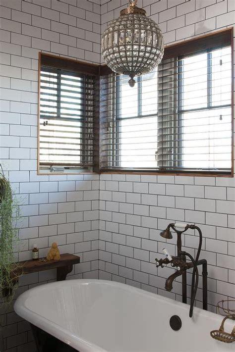 bathroom white tile black grout bathroom white subway tile black grout bathroom design ideas