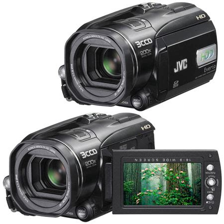 Jvc 2007 High Definition Everio Camcorder by Jvc Everio Gz Hd3 Compact Hd Camcorder To Launch In