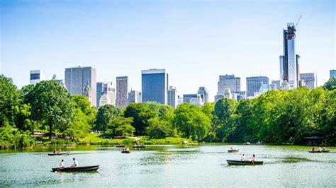 roeien in new york central park in new york bezoeken nu tickets boeken