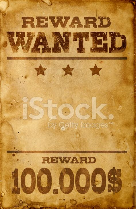 Movie Decor For The Home by Wanted Poster Stock Photos Freeimages Com