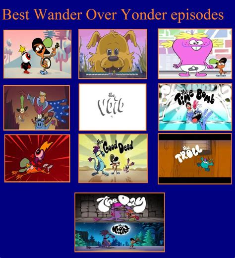 Wander Over Yonder Meme - top 10 wander over yonder episodes by kessielou on deviantart