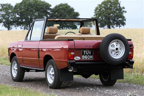 land rover convertible 4 rare 1973 range rover convertible goes to auction