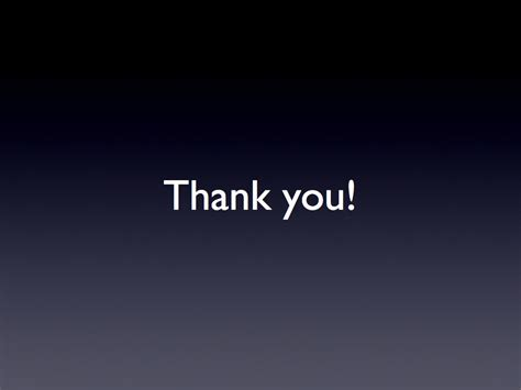 Andreas Zeller S Blog Summarizing Your Presentation With Thank You Slide For Ppt Images