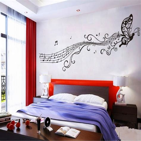 room decoration music themed bedroom decorating ideas