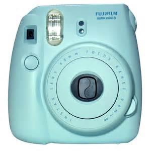 Light Blue Polaroid Camera Triple Win For Fujifilm Cape Town Guy