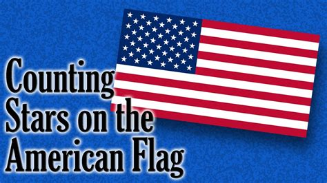 Gamis Aurel Syari counting on the american flag counting for