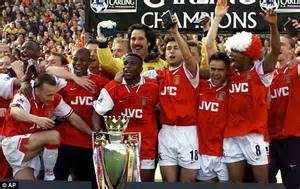 arsenal premier league titles arsenal players drunk 35 pints then won the double ray
