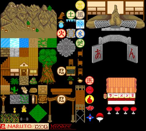 House Map Maker naruto game map tiles by sirwilliamperkins on deviantart