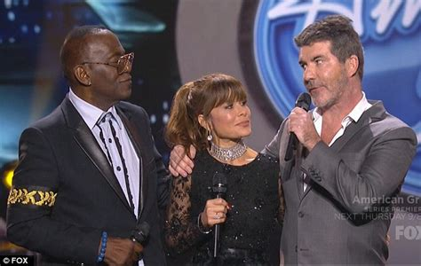 The Greatest American Last Episode American Idol 2016 Sees Simon Cowell Randy Jackson And Paula Abdul Daily Mail