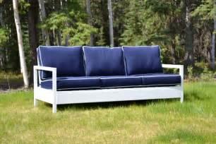 Garten Sofa Selber Bauen Ana White Simple White Outdoor Sofa Diy Projects